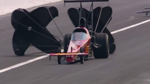 Chevrolet Performance U.S. Nationals Top Alcohol Dragster champ Josh Hart