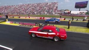 Chevrolet Performance U.S. Nationals Super Stock champ Kevin Helms