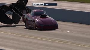 NHRA Carolina Nationals Top Alcohol Funny Car winner Andy Bohl
