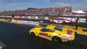 AAA Insurance NHRA Midwest Nationals Pro Mod winner Troy Coughlin