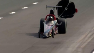 AAA Insurance NHRA Midwest Nationals Top Dragster winner Danny Nelson