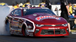 Greg Anderson extends his points lead with the No. 1 qualifier in Pomona