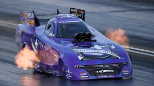 Jack Beckman rockets to the No. 1 qualifier at the Auto Club Finals