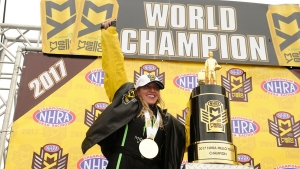 Brittany Force wins her FIRST NHRA Mello Yello Top Fuel World Championship
