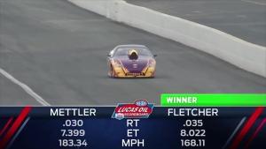 Auto Club NHRA Finals Comp winner Dan Fletcher