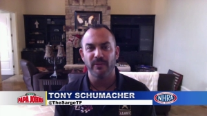 Tony Schumacher discusses latest team developments