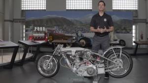 Night at the Museum: Barn Job Drag Bike