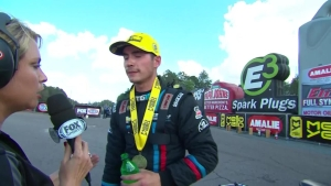 Tanner Gray joins his father and grandfather as a winner at the Gatornationals