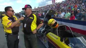 2018 Amalie Motor Oil NHRA Gatornationals Top Dragster winner Al Kenny