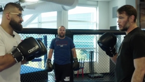 Shawn Langdon Trains with UFC's Julian Marquez and Forrest Griffin