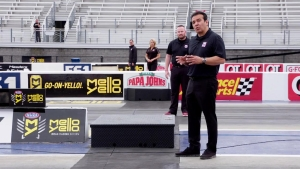 Why it's tougher to stage at a four-wide drag race