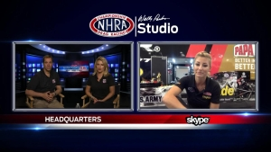 NHRA Southern Nationals winner Leah Pritchett answers fan questions