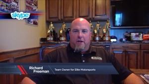 Richard Freeman rejoins the Pro Stock ranks at Menards NHRA Heartland Nationals in Topeka