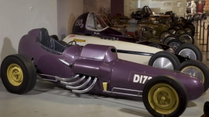 Night at the Museum: Melvin Heath's dragster