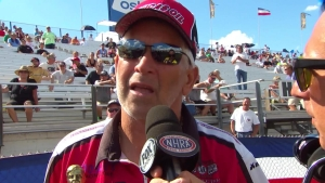 2018 Chevrolet U.S. Nationals Competition Eliminator winner David Rampy