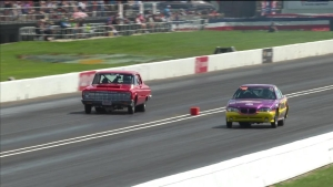 2018 Chevrolet U.S. Nationals Super Stock winner Dennis Steward