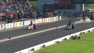 2018 AAA Midwest Nationals Top Dragster winner Jenifer White