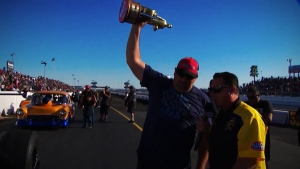 Paul Nero earns Top Dragster championship