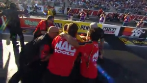 J.R. Todd becomes 2018 Funny Car champion