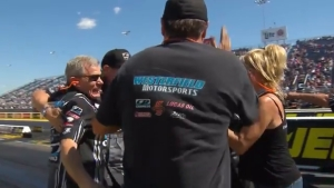 2018 JEGS Route 66 NHRA Nationals Top Alcohol Funny Car winner Shane Westerfield