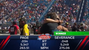 2018 JEGS Route 66 NHRA Nationals Top Alcohol Dragster winner Joey Severance