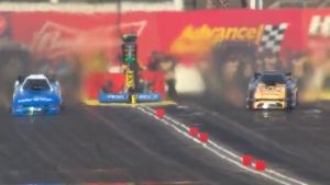 Broken axle leads to blower explosion, wild ride for Tommy Johnson Jr. in Phoenix
