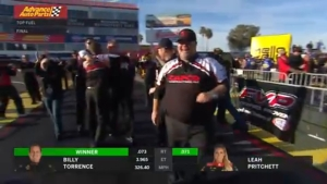 Billy Torrence goes wire to wire in Phoenix for second Top Fuel win