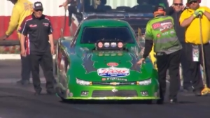 2019 Winternationals Top Alcohol Funny Car winner Brian Hough