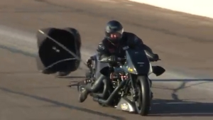 2019 Arizona Nationals Top Fuel Harley winner Beau Layne
