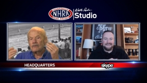 Lewis Bloom and Brian Lohnes interview legendary NHRA broadcaster Dave McClennand