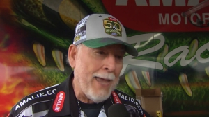 Amanda Busick catches up with Amalie Motor Oil President Harry Barkett