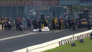 Jay Turner captures Top Fuel Harley victory in Houston