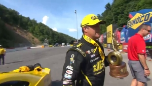 Jeg Coughlin Jr. captures Pro Stock Wally at 2018 Fitzgerald USA NHRA Thunder Valley Nationals in Bristol