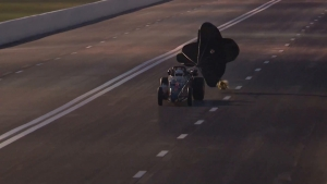 Jet Cars blast off in Houston