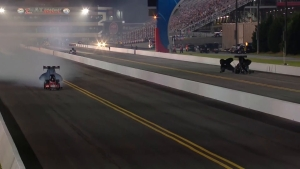 Mike Salinas qualifies No. 1 in Top Fuel on Friday in Charlotte