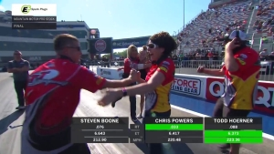 Christopher Powers takes Mountain Motor Pro Stock victory at NGK Spark Plugs NHRA Four-Wide Nationals