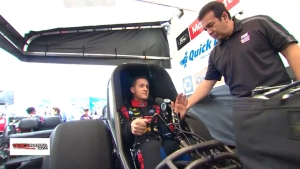 Bob Tasca walks you through the start-up procedure of his Mustang Funny Car