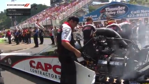 JEGS How it Works: Starting a Top Fuel Dragster