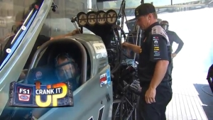 Crank it up in the pits at the Fitzgerald USA NHRA Thunder Valley Nationals