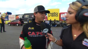 Advancing to the Next Round with Steve Torrence at 2018 Menards NHRA Heartland Nationals