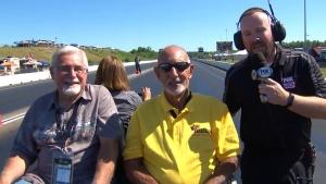 SealMaster Trackwalk with NHRA Legends Arnie Karp and Don Roberts