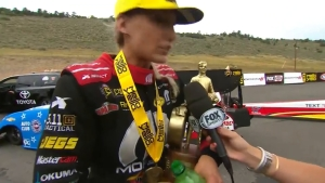 Leah Pritchett captures 2018 Top Fuel win at Dodge Mile-High NHRA Nationals in Denver