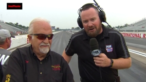 SealMaster Track Walk with NHRA legend Tom Hoover