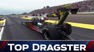 2018 Lucas Oil NHRA Nationals Top Dragster winner Todd Fleck
