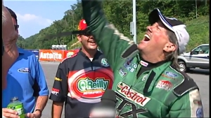Highlighting NHRA's trophy: the Wally