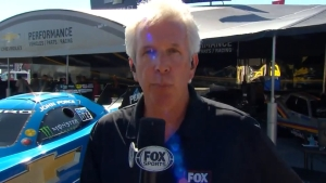 Lee Beard and John Kernan talk track temp at Lucas Oil Raceway