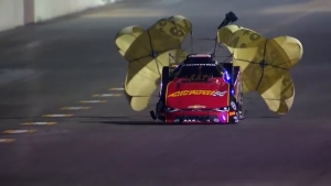 Courtney Force races to Friday Funny Car No. 1 at AAA Insurance NHRA Midwest Nationals