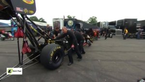 Meet the clutch specialist on Leah Pritchett's Top Fuel Dragster: Sterling Van Dunsen