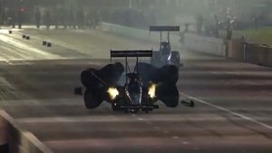 Clay Millican races to the No. 1 position in Top Fuel at the AAA Texas NHRA FallNationals