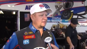 Behind the Visor: Robert Hight on his physical condition going into the 2018 AAA Texas NHRA FallNationals